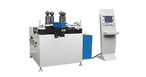 台式铝切机设备如何实现切割45度角